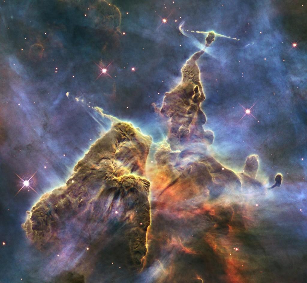 Hubble: Nahezu alles, was man am Nachthimmel sehen kann, sind Teile von Galaxien. © n-tv