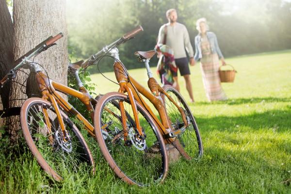 Bambusfahrräder von my Boo