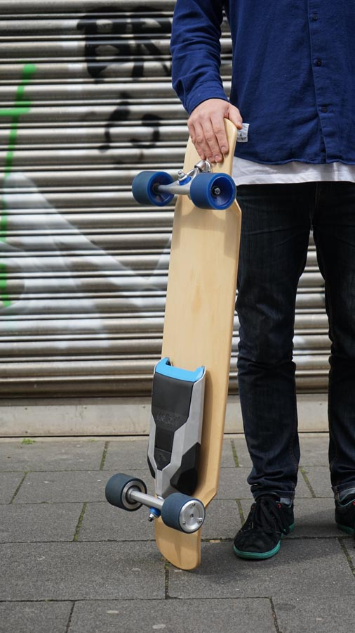 mellow boards jetzt mit elektro antrieb skaten. Black Bedroom Furniture Sets. Home Design Ideas