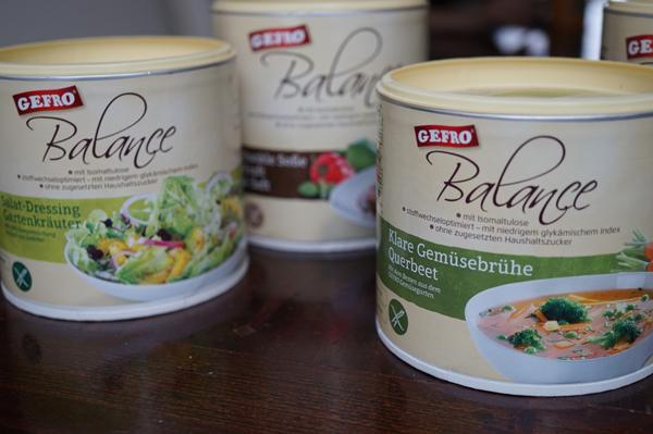 Gefro Balance: stoffwechseloptimierte Ernährung