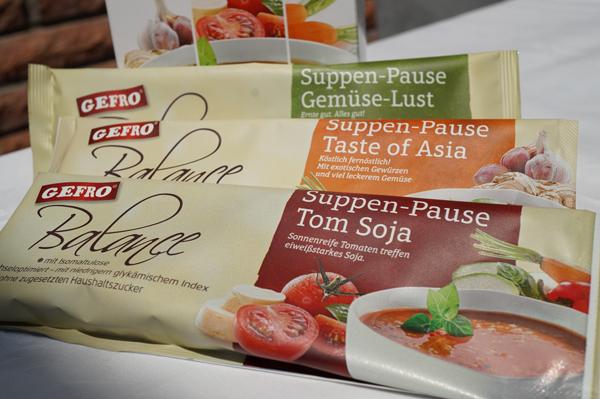 Gefro Balance: Suppenpause für die Arbeit - schnell, lecker und gesund