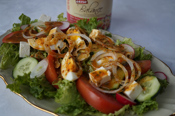 Chefsalat mit Gefro Amore Pomodore
