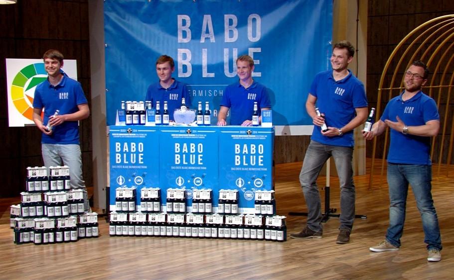 Babo Blue: Ludwig Gerlinger, Josef Kimberger, Patrick Loy, Hans-Kaspar Mayer, Robin Stein © VOX