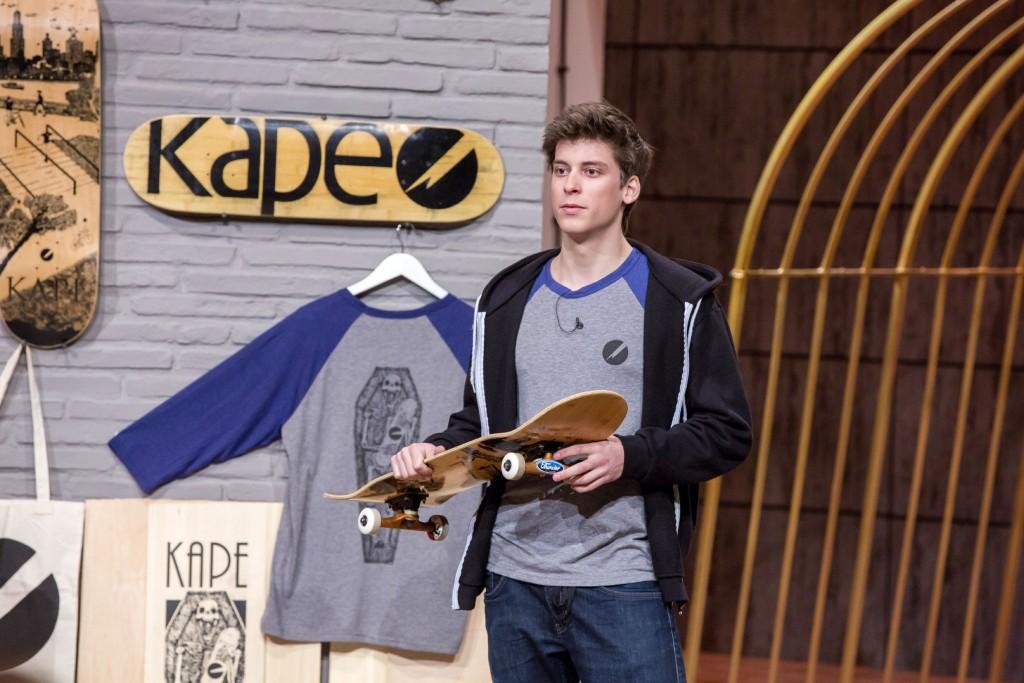 Kape Skateboards: Peter Karacsonyi (22) © VOX/ Bernd-Michael Maurer