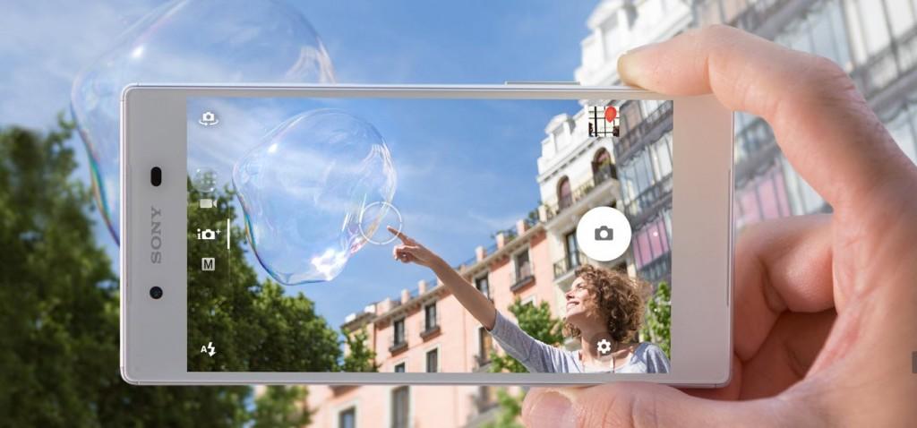IFA 2015: Das Sony Xperia Z5 als erstes 4K-Smartphone Quelle: sony.de