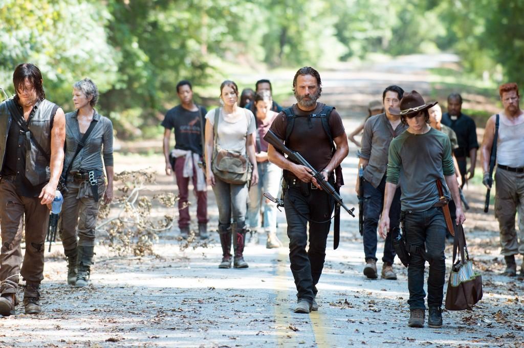 The Walking dead 5: Wer wird es wolhl bis zur 6. Staffel schaffen? Photo Credit: Gene Page/AMC