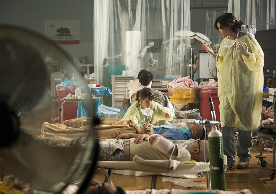 Fear the Walking Dead, Folge 5: Das Krankelager existiert tatsächlich. Photo by Justina Mintz/AMC